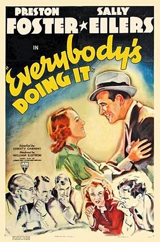 Everybody's Doing It (1938 film) - Poster for the film