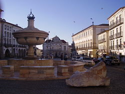 Giraldo Square in Évora.
