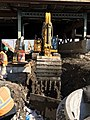 Excavation for the installation of sanitation piping west of Queens Boulevard. (CQ033, 1-15-2018) (25895851568).jpg