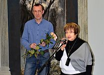 Exhibition Valery Pesin in Minsk Contemporary Arts Center 04.03.2015 06.JPG