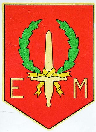 """First Division 7 December - Emblem of the Eerste Divisie """"7 December"""""""