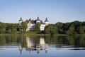 Exteriör. Sommar. Slottet från sjön. Liggande - Skoklosters slott - 88051.tif