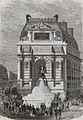 Fête du 15 août - inauguration de la fontaine Saint-Michel sur le boulevard Sébastopol.jpg