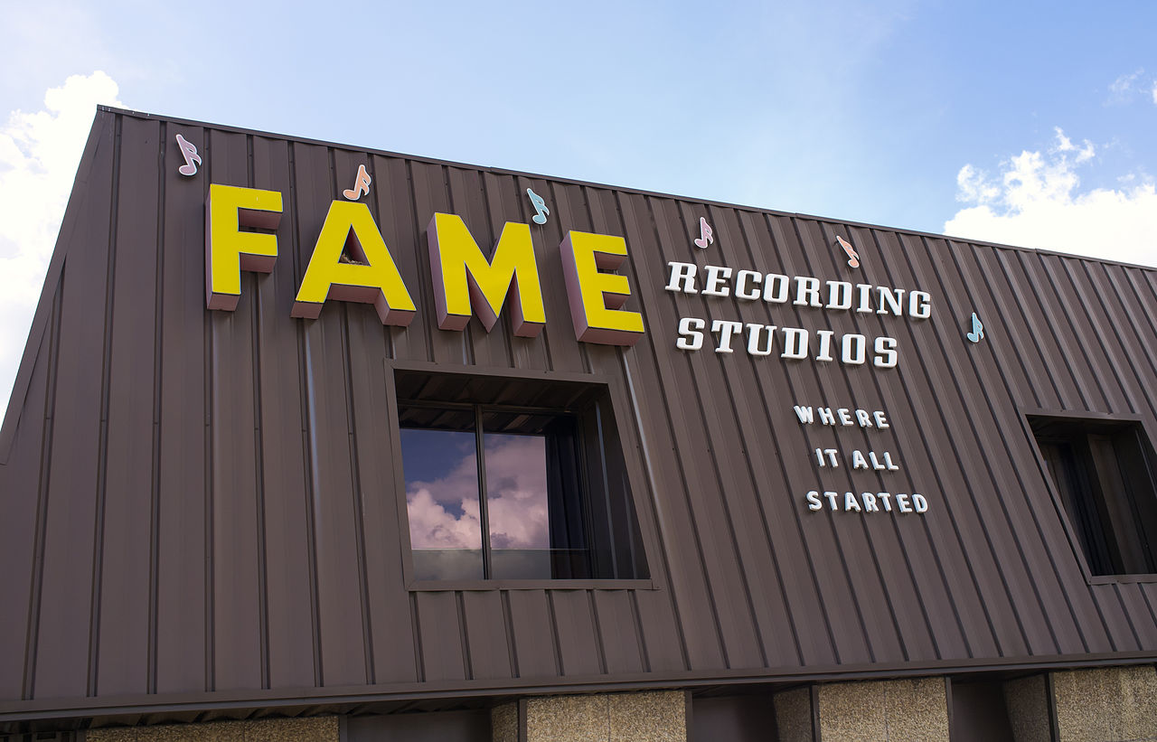 D And D Auto Sales >> File:FAME Recording Studios sign, Muscle Shoals, Alabama ...