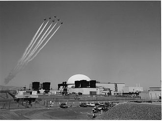 Robert Ferguson (physicist) - Fast Flux Test Facility on the Hanford Site in Richland, Washington, was completed in 1978 and began operation in 1980. Its purpose was to test advanced nuclear fuels, materials, components, nuclear power plant operations and maintenance protocols, and reactor safety designs for commercial fast breeder reactors. Photo source: U.S. Department of Energy.