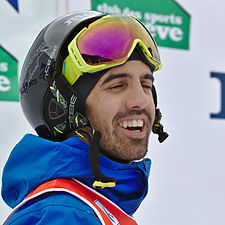 FIS Moguls World Cup 2015 Finals - Megève - 20150315 - Anthony Benna 2.jpg