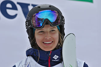 FIS Moguls World Cup 2015 Finals - Megève - 20150315 - Morgan Schild 2.jpg