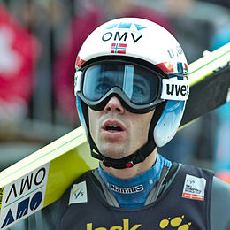 Anders Bardal a Engelberg nel 2014