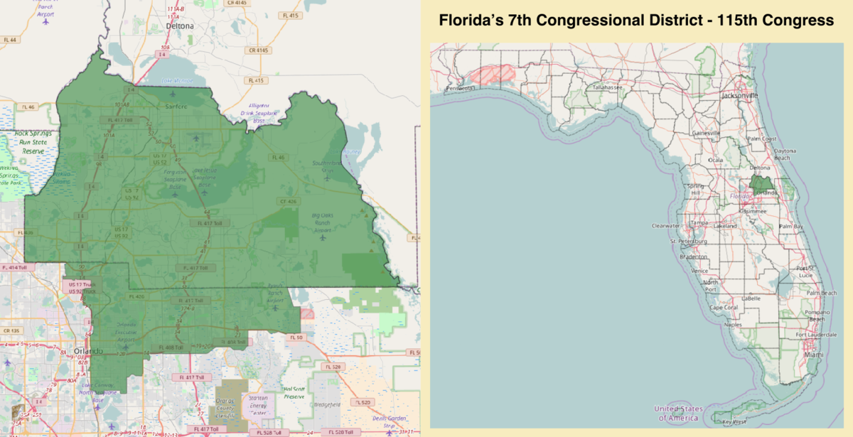 Florida's 7th congressional district - Wikipedia on