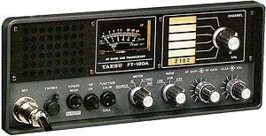 Yaesu (brand) - Yaesu FT-180 commercial HF ship/shore communications equipment