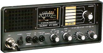 Yaesu (brand) - Yaesu FT-180 commercial HF ship/shore communications equipment