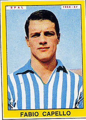 Fabio Capello - Capello as player of SPAL (1966)