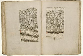 Illustrated Chronicle of Ivan the Terrible - Image: Facial Chronicle b.20, p. 288 289 Coronation Ivan IV
