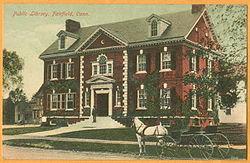 Fairfield Library Horse