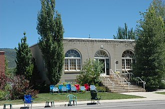 Fairview, Utah - Fairview City Hall, July 2011