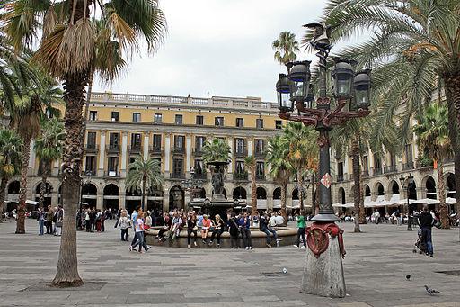 Fanal de la Plaça Reial Barcelona