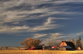 farm off hwy. 37 in alberta