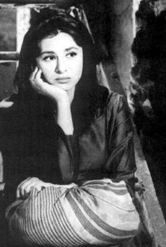Faten Hamama - Hamama in Al Haram (1965).