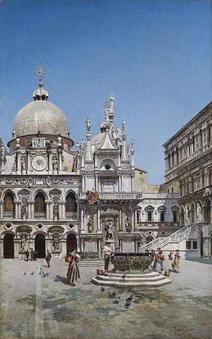 Federico del Campo - Doge's Palace in Venice