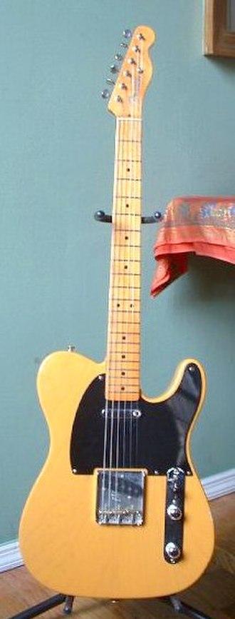 Fender Telecaster - Image: Fender Telecaster