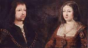Fuenteovejuna - Wedding portrait of Ferdinand and Isabella.