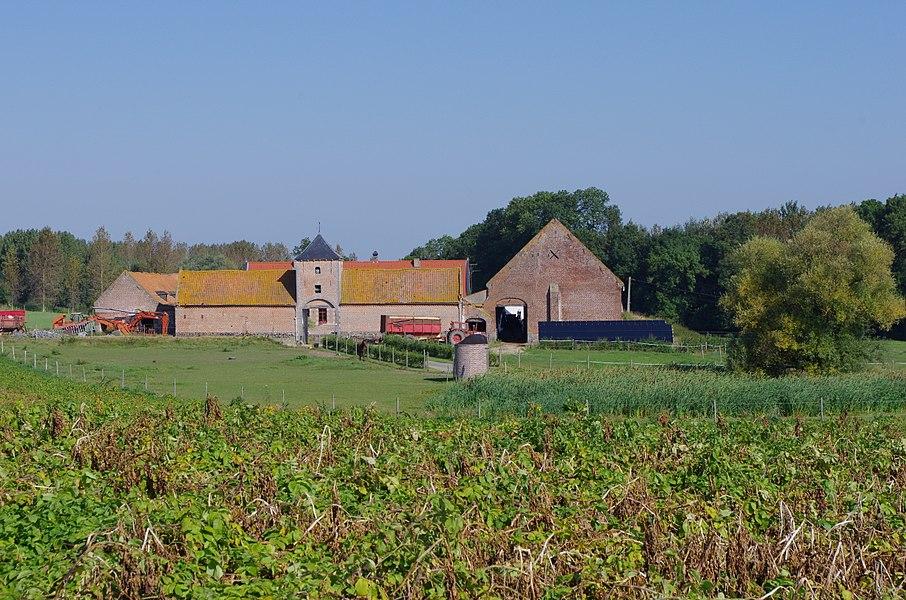 Ferme du Marais, Rue de la Roche 6, LENS (Montignies-lez-Lens). Inventaire du patrimoine culturel immobilier de Wallonie, fiche n° 53046-INV-0084-02