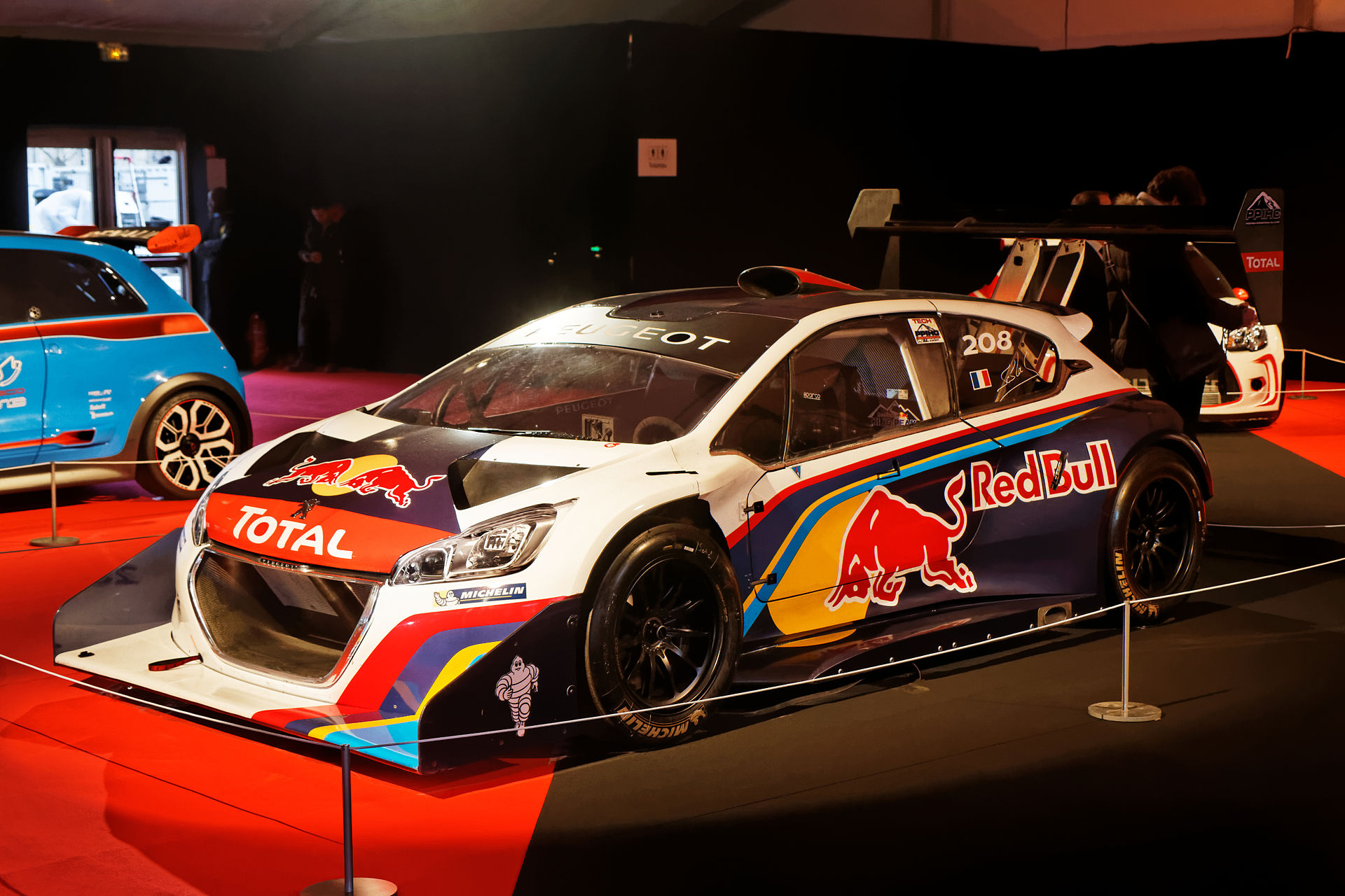 peugeot 208 t16 pikes peak wikipedia. Black Bedroom Furniture Sets. Home Design Ideas