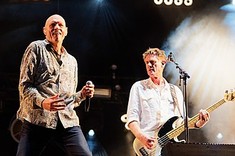 Midnight Oil - Midnight Oil at Vieilles Charrues Festival, 2017