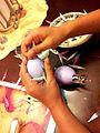Filling Cascarones with Confetti.jpg