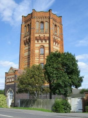 Finedon - Image: Finedon Water Tower
