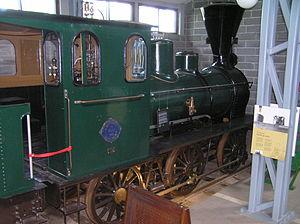 Hanomag - Hannoversche Maschinenbau locomotive No 1477 of 1882 0-6-0 at the Finnish Railway Museum