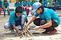 Fire-making - Survival Programme - Summer Camp - Nisana Foundation - Sibpur BE College Model High School - Howrah 2013-06-09 9690.JPG