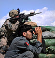 Firefight at Afghan National Police checkpoint in Kunar province 2010-09-18 2.jpg