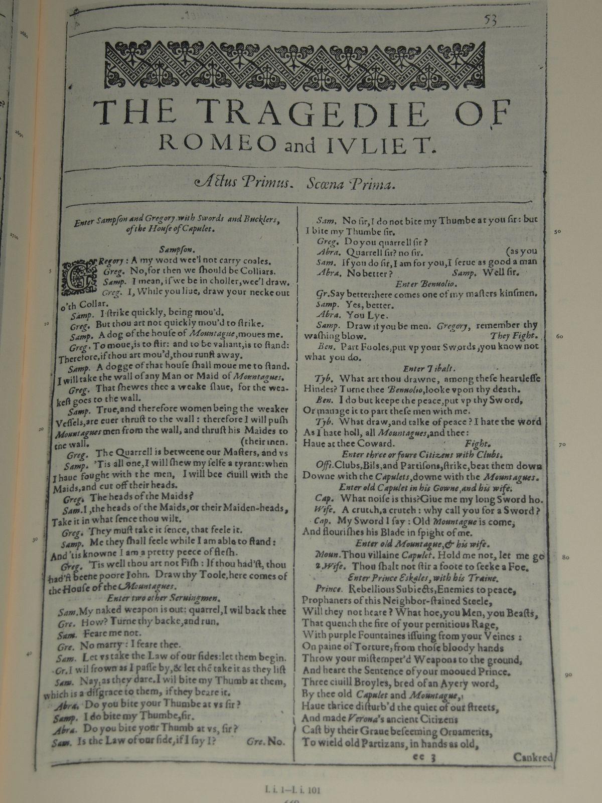 romeo och julia William shakespeare's romeo + juliet edit language label description also known as english: retrieved 2 may 2016.