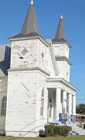 First African Baptist Church and Parsonage (Waycross, Georgia) - Image: First African Baptist Church, corner, Waycross, GA, US