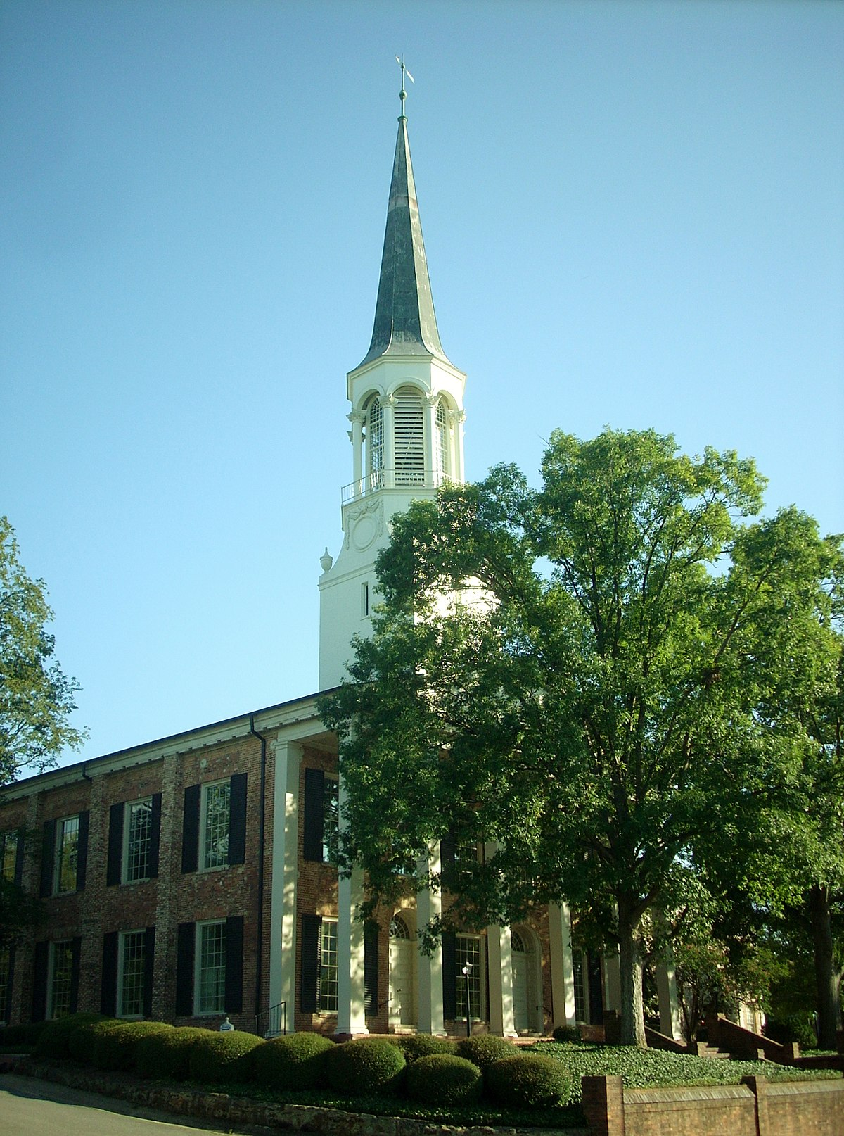 First presbyterian church fayetteville north carolina for First ch