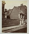 First brick house built in Philadelphia - (Bricks brought from England). ca. 1870. (6881591627).jpg