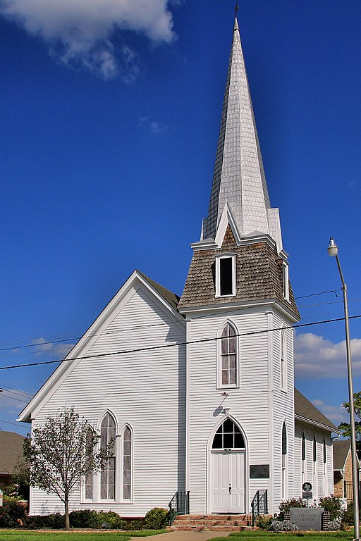 Giddings (TX) United States  city pictures gallery : : The First Presbyterian Church in Giddings, Texas, United States ...