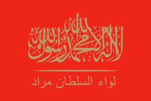 Turkish military intervention in Syria - Image: Flag of the Sultan Murad Brigade