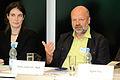 Flickr - boellstiftung - Camilla Bausch, Ecologic Institute und Hans-Josef Fell, Bündnis 90-Die Grünen.jpg