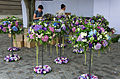 Flower table decoration Wedding in Budapest.jpg