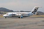 Flybe - British European British Aerospace BAe-146-200 G-JEAY (29457145674).jpg