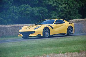 Ferrari F12 - Ferrari F12tdf at the 2016 Goodwood Festival of Speed