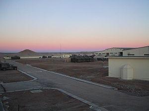 Camp Rhino - FOB Rhino, December 2001