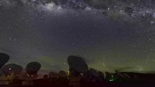 Fichier:Following the Milky Way over ALMA.webm