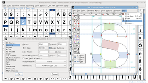 Type design - FontForge, an open source application for developing digital fonts
