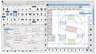 Type design - FontForge, an open source application for developing digital fonts