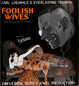 Foolish Wives - Theatrical release poster