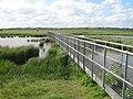 Footbridge across Capel Fleet - geograph.org.uk - 1312207.jpg