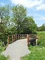 Footbridge crossing a stream - geograph.org.uk - 930428.jpg